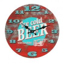 Mancave Wall Clock