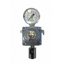 co2 secondary regulator with gauge