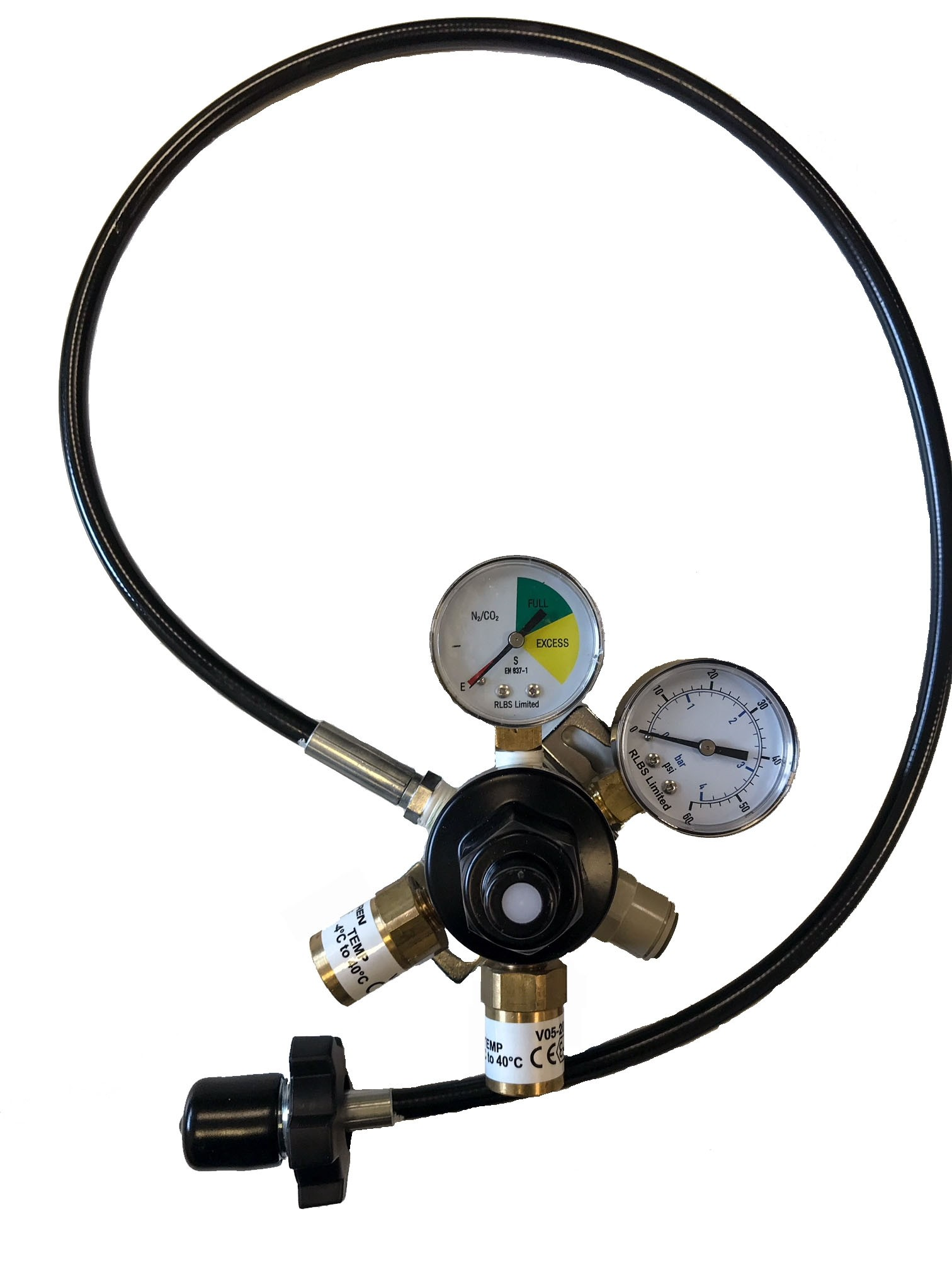 Wall Mounted Mixed Gas Primary Regulator