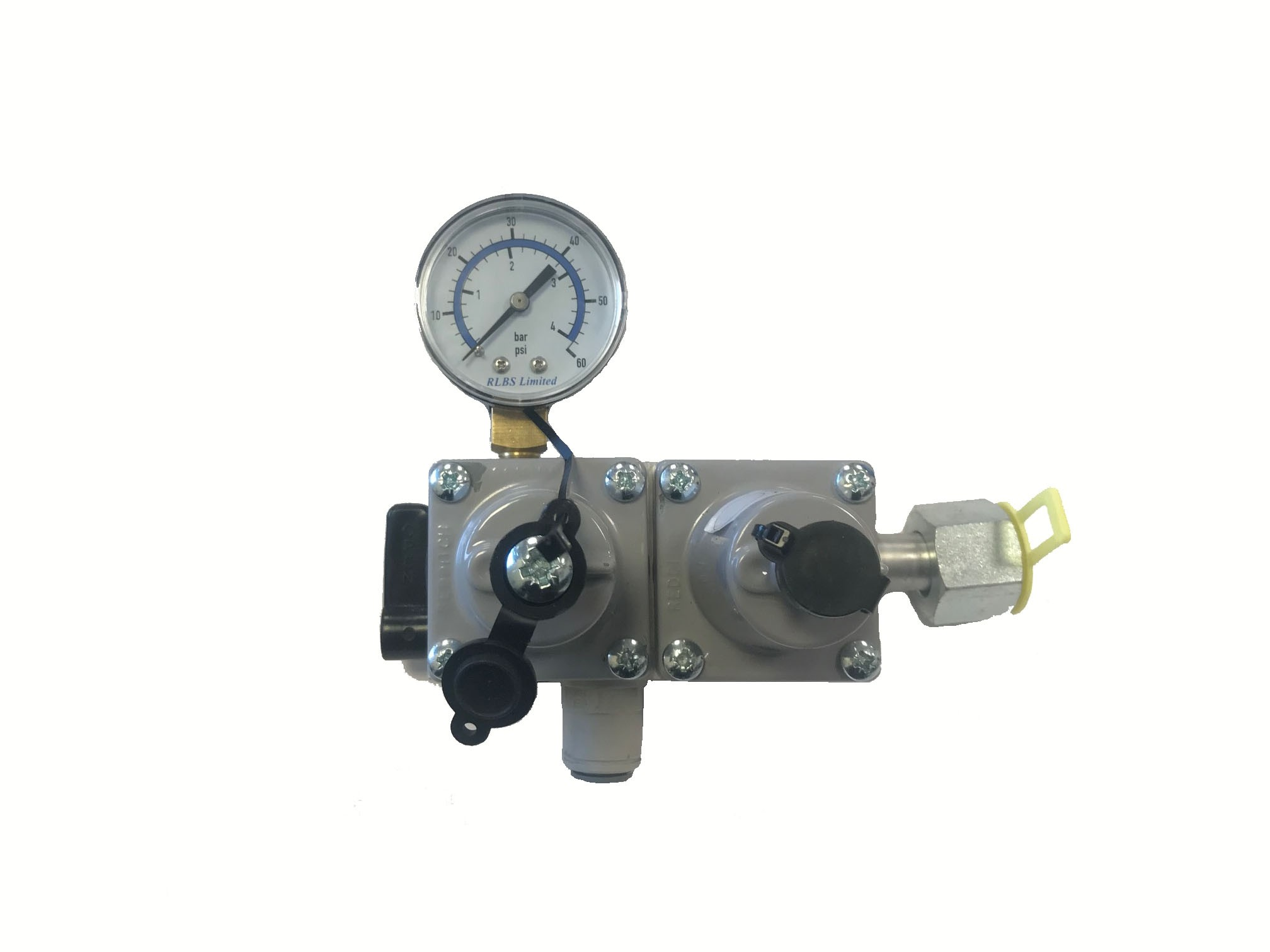CO2 Low Pressure Bottle Mounted 2 Stage Regulator