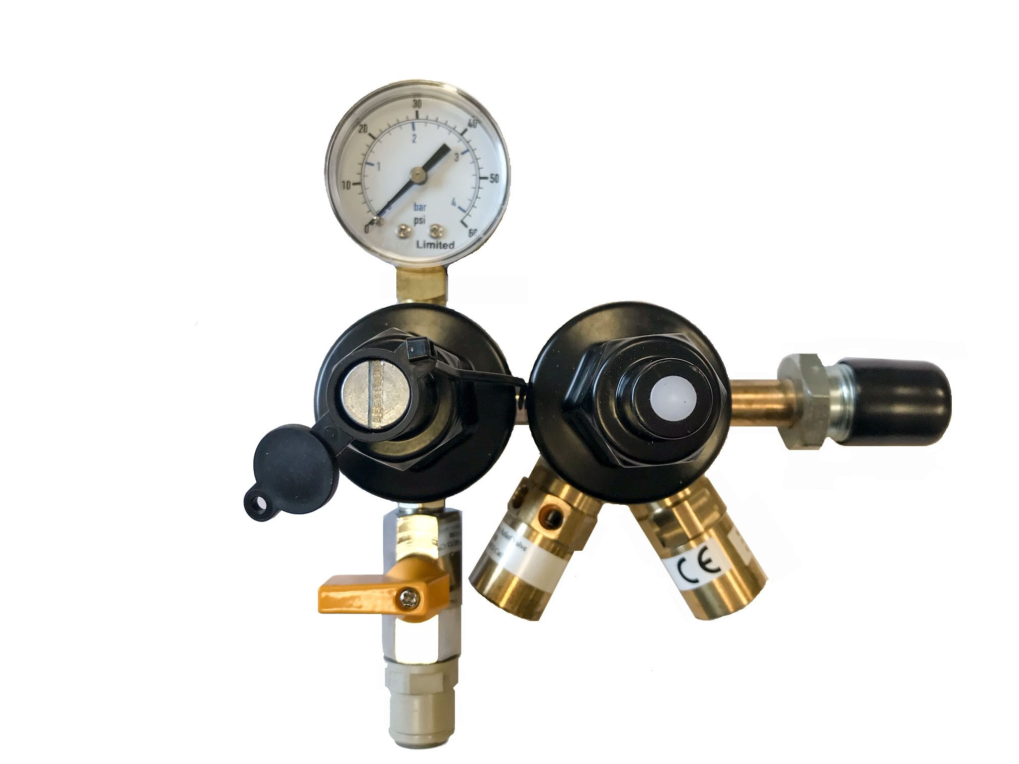 beer gas regulator two stage