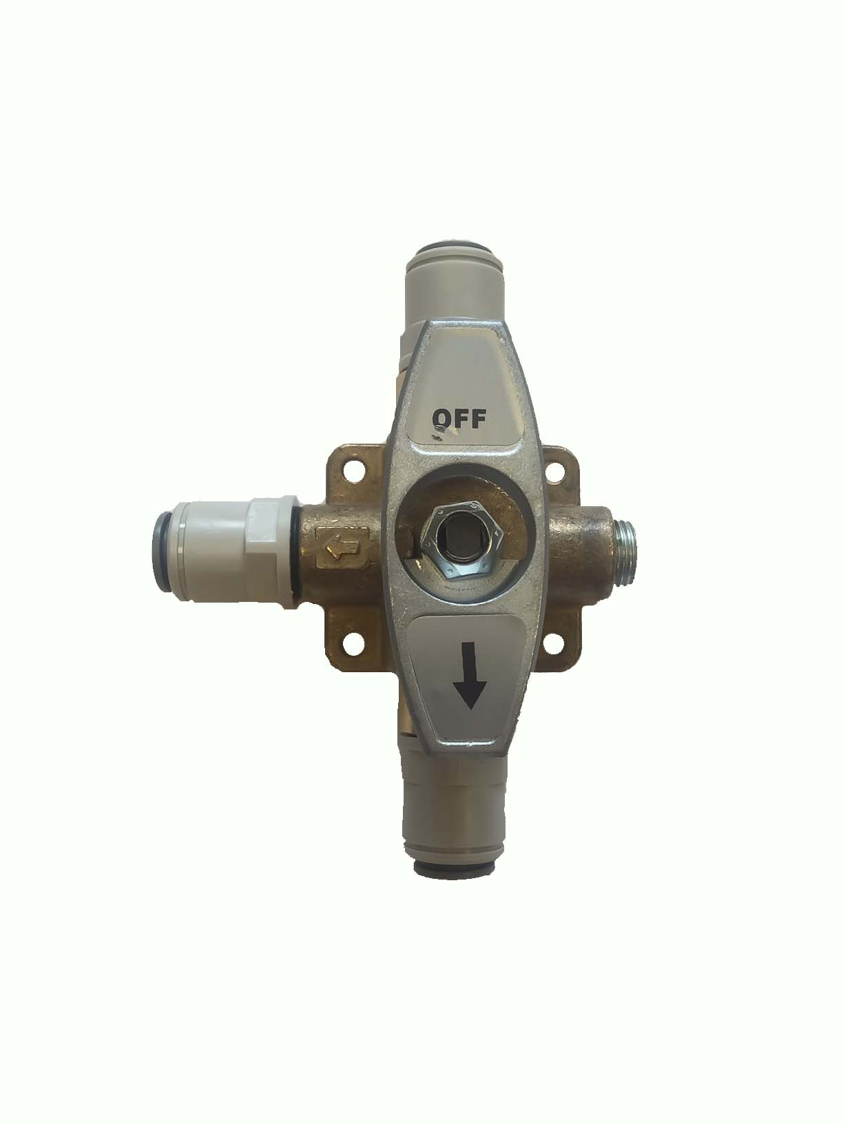 brass change over valve