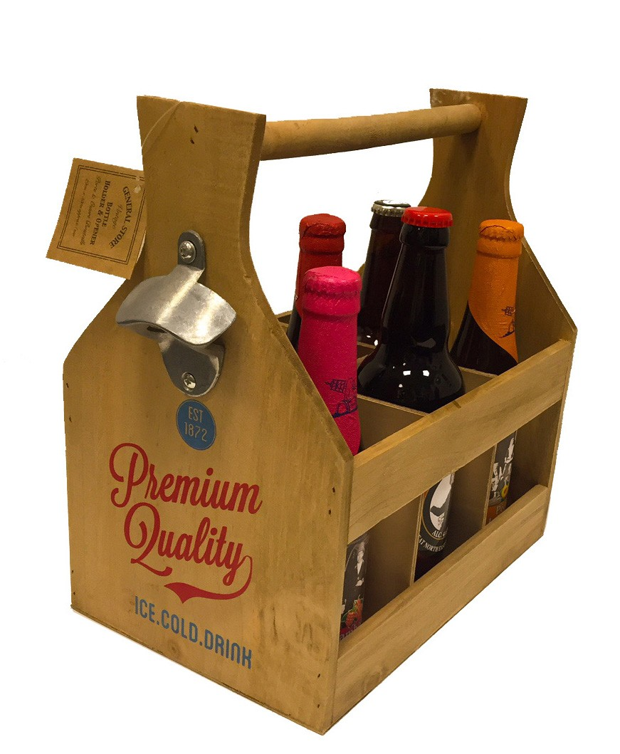 craft beer gifts craft wooden crate gift set 1410
