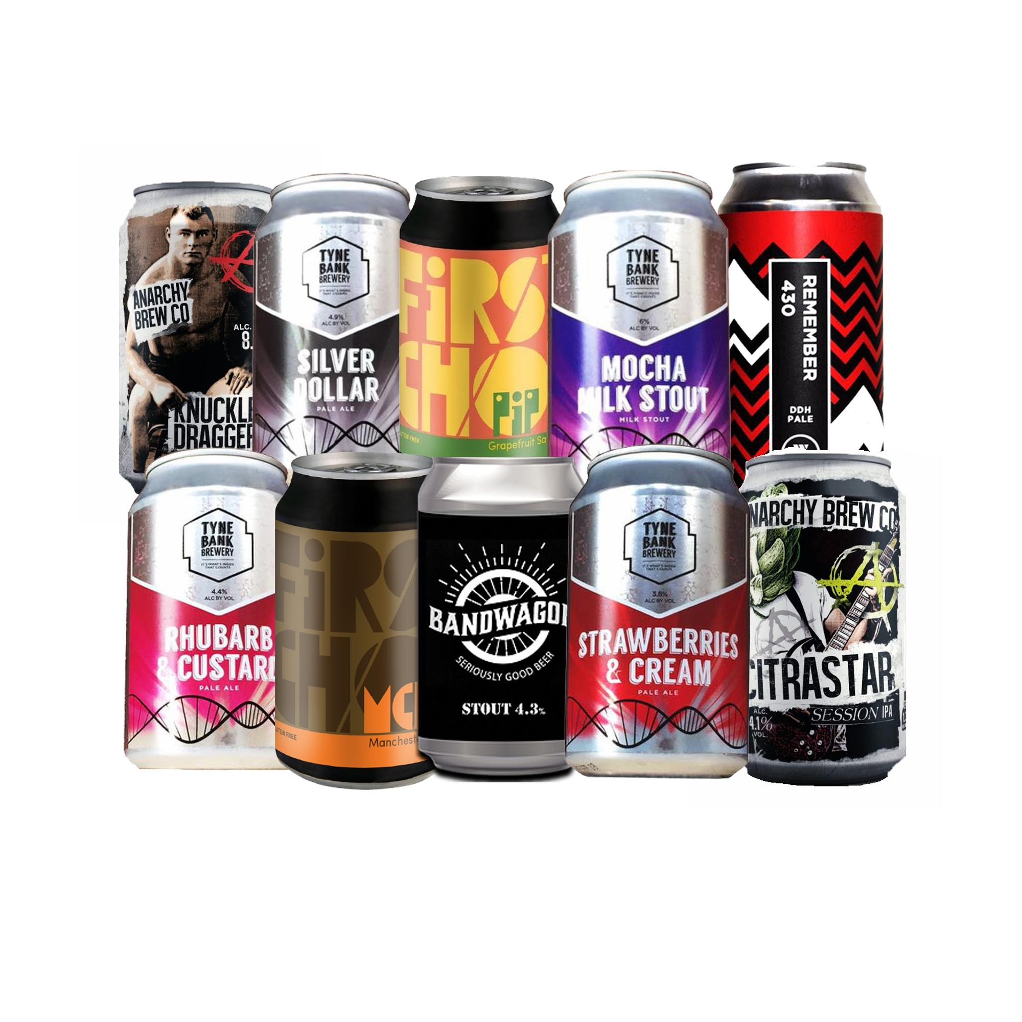 Craft Beer Cans Mixed Case