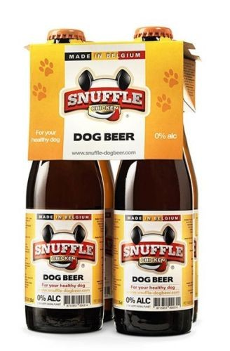 Snuffle Dog Beer 4 Pack