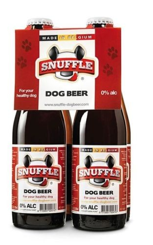 Snuffle Dog Beer Beef 4 Pack